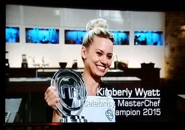 Kimberly Wyatt Celebtrity MasterChef Winner 2015